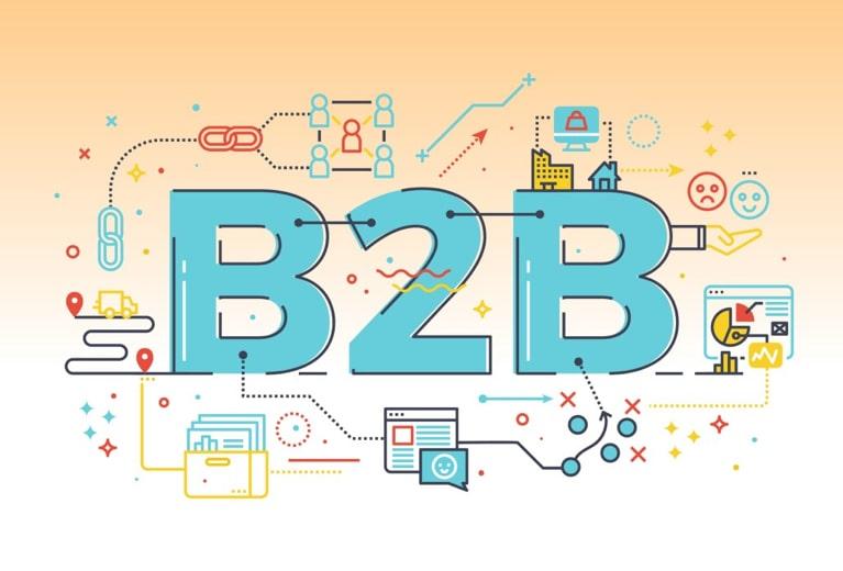 b2b lead generation graphic